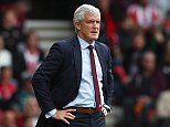 Mark Hughes believes 'now is the best time to play Everton' following mass changes at Goodison Park