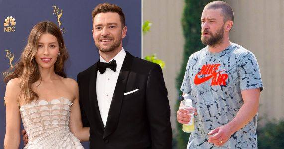 Justin Timberlake's wedding ring firmly back on after apology to wife Jessica Biel