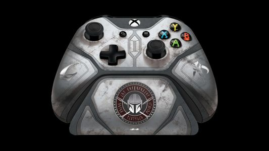 This Mandalorian-themed, Xbox Series X-compatible controller can be pre-ordered now