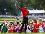 Tiger Woods caps comeback with a win at Tour Championship five years after nearly retiring