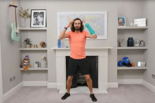 Joe Wicks' live PE lesson thrown into chaos as his camera batteries run out