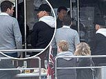 Michael Clarke and radio cast on yacht after horror ratings