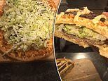 A home chef has made a giant Big Mac PIZZA using ingredients from McDonald's