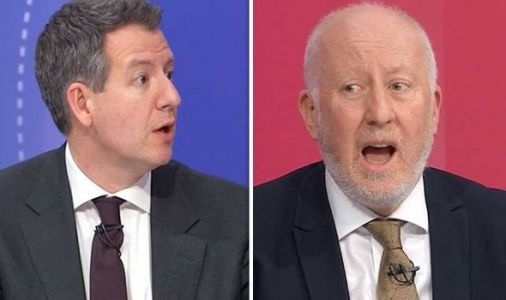 'Outrageous slur!' Huge BBC Question Time ROW erupts between Labour MP and rebel MP