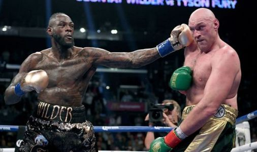 Tyson Fury fires four-word message to Deontay Wilder after fierce Otto Wallin battle