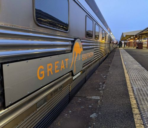 On board the inaugural journey of Australia's newest luxury train