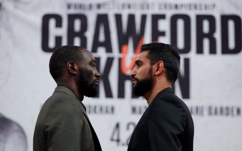 Terence Crawford vs Amir Khan: live round-by-round fight updates from New York