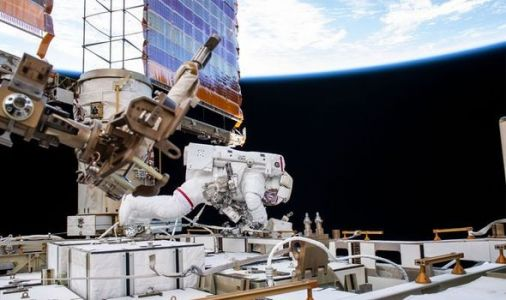NASA news: Space Station astronaut snaps breathtaking pictures of ISS 250 miles in space