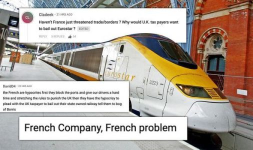 'It's a French problem!' Britons furious as Macron begs for UK help with Eurostar bailout