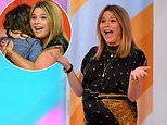 Pregnant Jenna Bush Hager is surprised with a cowboy-themed baby shower on the Today show