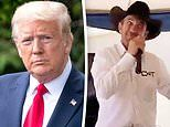 Trump tweets out 'cowboys for Trump' head saying 'the only good Democrat is a dead Democrat'