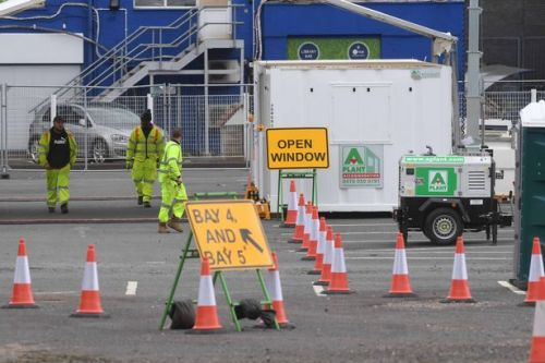 Top cricket ground becomes giant coronavirus drive-through test site for NHS