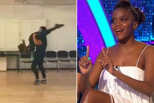 Strictly's Oti Mabuse 'feared for her life' when lift with Kelvin went wrong during rehearsals