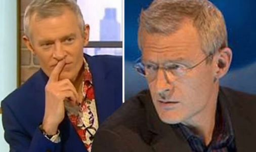 Jeremy Vine hits out at 'bl**dy punishing routine' to film BBC quiz show Eggheads