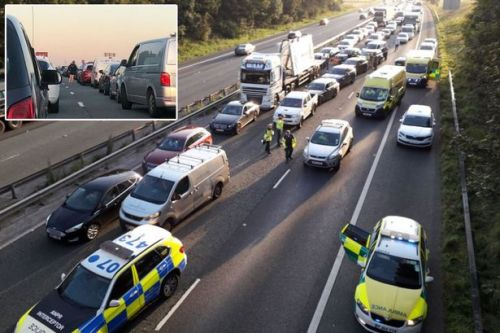 Student, 21, dies on M56 after being hit by car 'while trying to hitchhike'