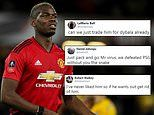 Manchester United fans want Paul Pogba sold after he admits playing for Real Madrid is a 'dream'