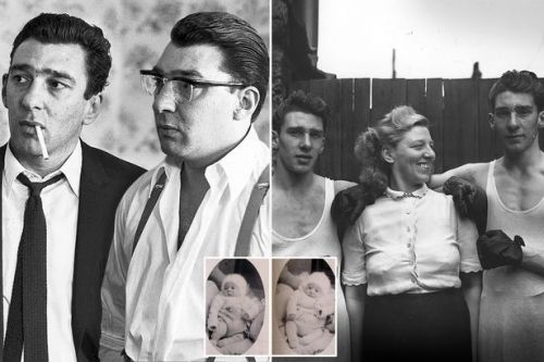 How Kray twins went from mum's lovely boys to most evil men in Britain