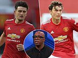 Ian Wright slams United's two starting centre backs and insists they are weak link
