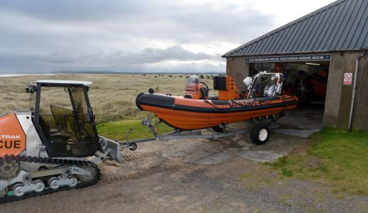 East Sutherland lifeboat charity looks to move closer to beach and expand building