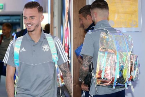 James Maddison shows off £6,500 Louis Vuitton rucksack as he scores Leicester's winner vs Tottenham