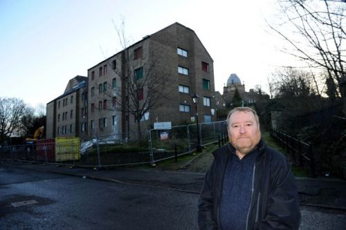 Plans lodged to pull down former student residences