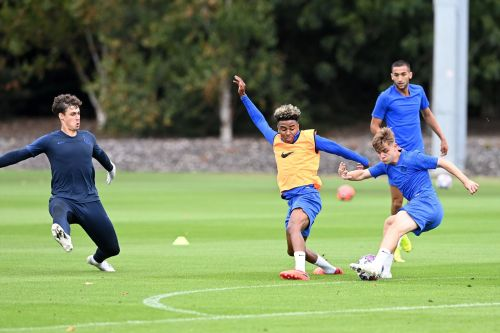: Chelsea train ahead of Champions League clash vs Bayern Munich