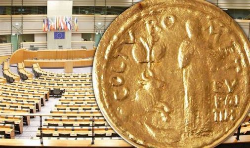 Eurocrats splurge £361k on medals to celebrate European Union - and Britons help pay