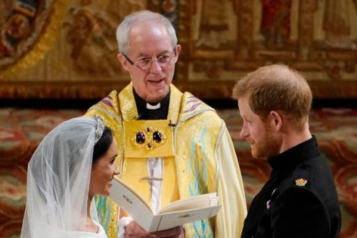Archbishop of Canterbury 'didn't recognise' Oprah at Meghan and Harry's wedding