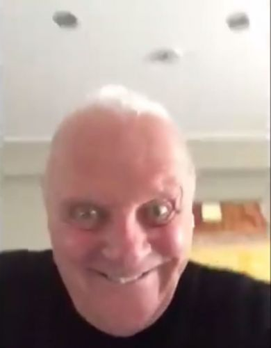 Anthony Hopkins creeps fans out with bizarre video and we're so confused