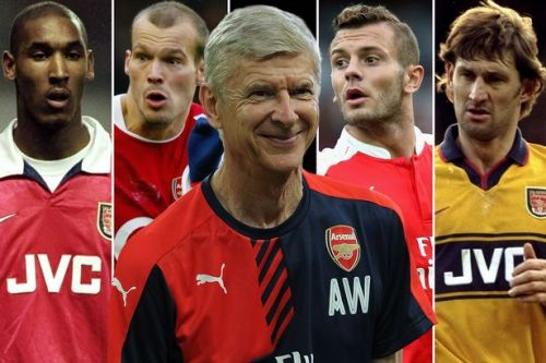 Arsene Wenger's 221: Every Arsenal player to have played under the Frenchman, from David Seaman to Pierre-Emerick Aubameyang
