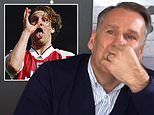 Paul Merson breaks down in tears as he opens up on battle with drink, drugs and depression