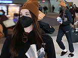 Kacey Musgraves keeps it casual while heading through LaGuardia Airport in NYC