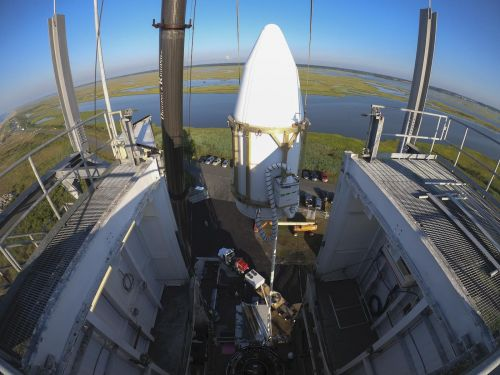 Top secret NRO payload installed on Minotaur rocket for launch from Virginia