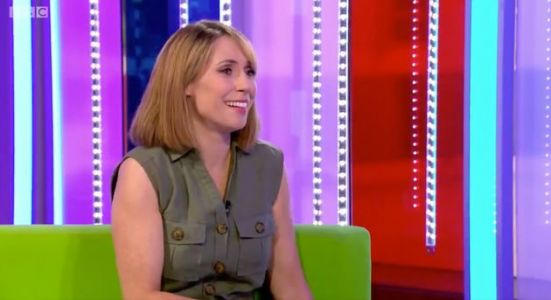 The One Show's Alex Jones Has A Tearful Moment As She Gets A Surprise From Her Mum