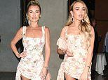 That's awkward! Billie Faiers and TOWIE newcomer Ella Rae Wise attend ITV Party in SAME dress
