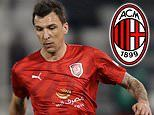 AC Milan 'close in on signing of free agent Mario Mandzukic with agreement reached on 18-month deal'