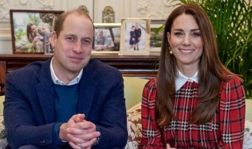 Kate dazzles in tartan as Duchess and William celebrate Burns Night with haggis gift