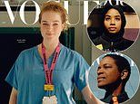 So in Vogue! British fashion bible swaps supermodels for key workers