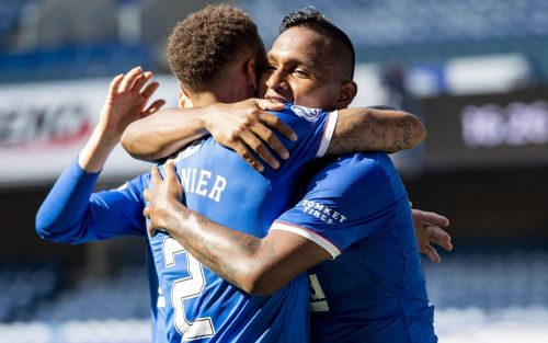 Alfredo Morelos double underlines value of striker to Steven Gerrard and Rangers