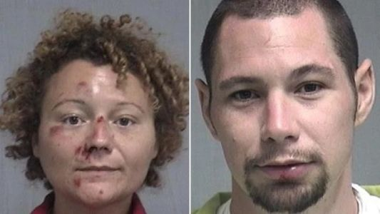 Couple 'had energetic sex in back of cop car' after being arrested for cycling while drunk