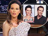 Kate Beckinsale insists she looks 'exactly' like Ryan Reynolds: 'I really see myself in him'