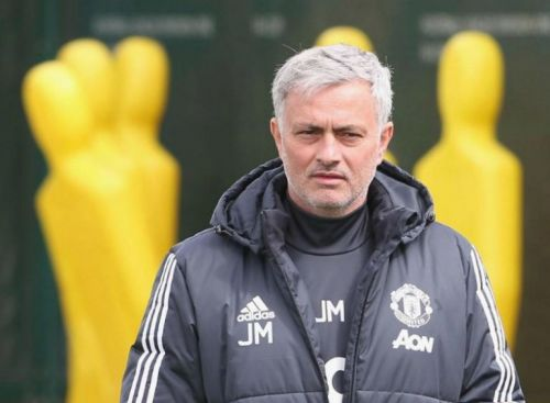 Ex-Man United boss Jose Mourinho jokes about Man City's 2018 title after UEFA ban