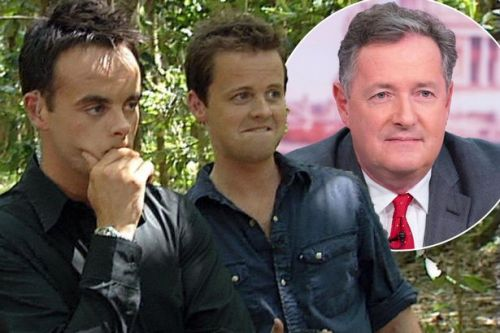 Ant and Dec tell Piers Morgan to 'grow up' as fiery Twitter argument breaks out