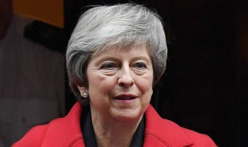 AND THEY'RE OFF! Top Tory puts May on ALERT over leadership - 'I WOULD consider it'