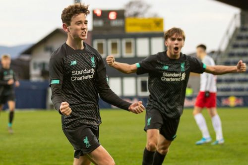 Liverpool U19s produce thrilling comeback to progress to UEFA Youth League last 16