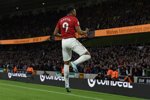 Anthony Martial has got his number back and he's absolutely flourishing