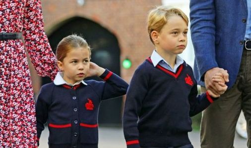 Princess Charlotte and Prince George allowed to break school rule - but classmates can't