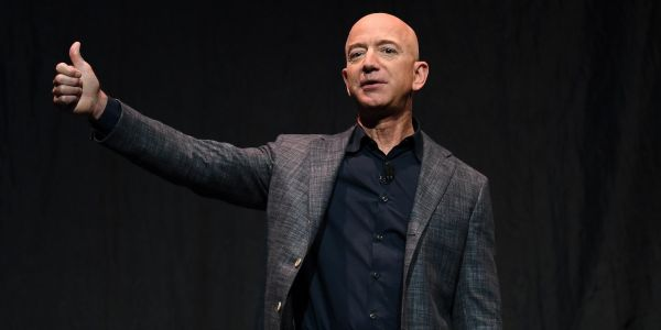 Jeff Bezos says he's giving $10 billion to fight climate change - about 7.7% of his net worth