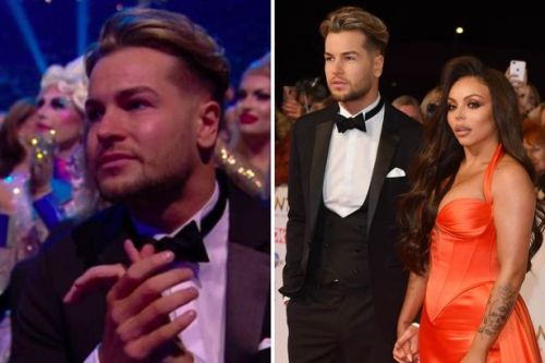 Chris Hughes supported Jesy Nelson at NTAs before split
