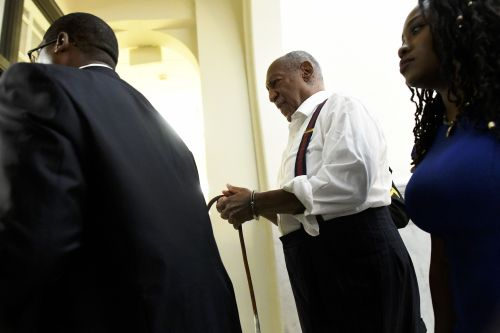 Bill Cosby, 81, is handcuffed and led to prison after being jailed for up to 10 years for sex assaults